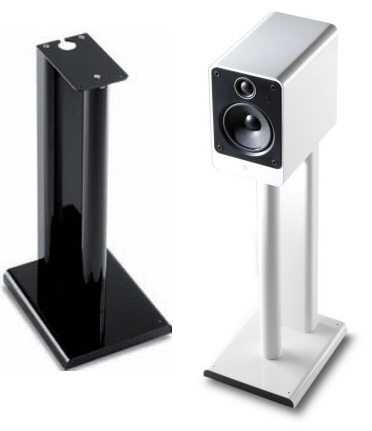 Q Acoustics 2000ST Speaker Stands Black